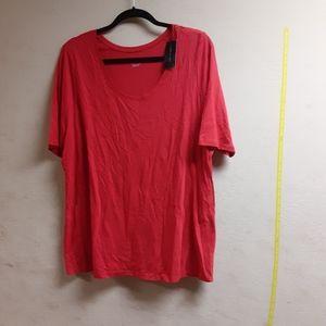 Red Lane Bryant Tshirt